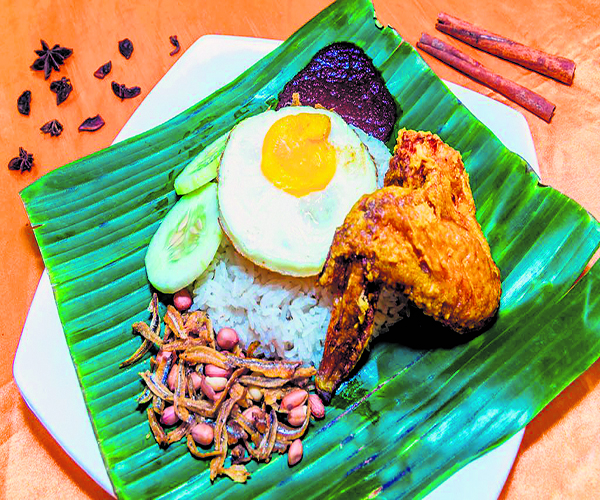 Book Lay Power Nasi lemak