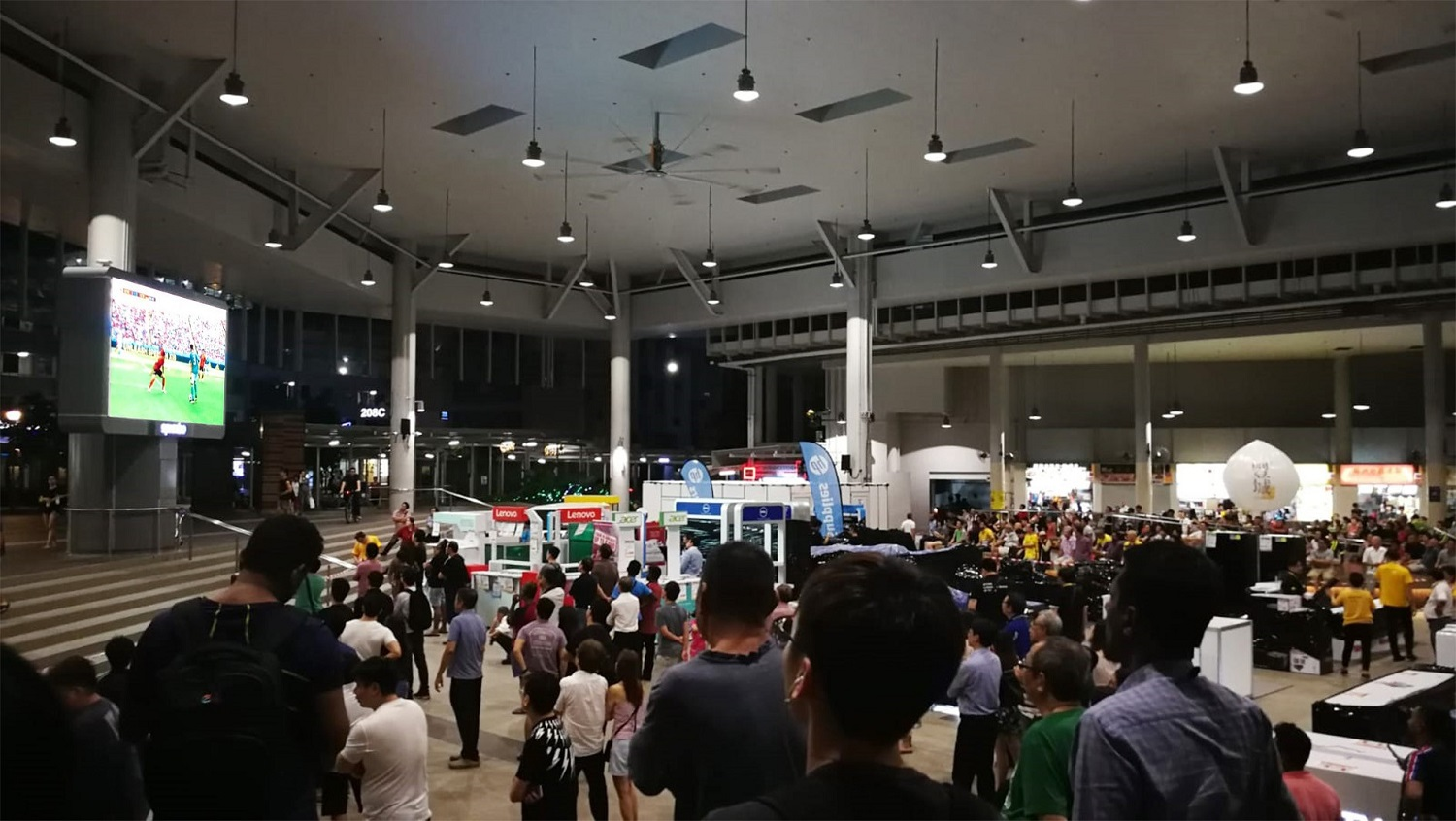 Free 'live' screening of World Cup matches at Bedok Town Square -SPH