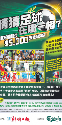 World Cup 2018 - LHWB In-Paper Contest